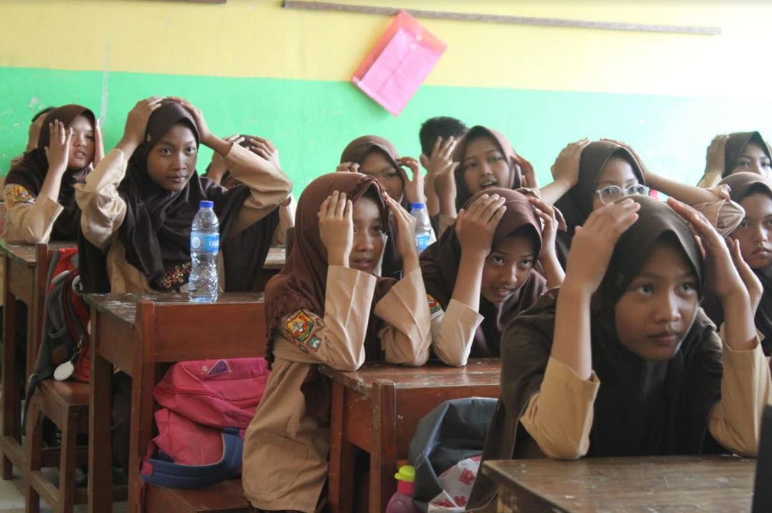 KOMPAK Jakarta Community Teaches Body Awareness to Students